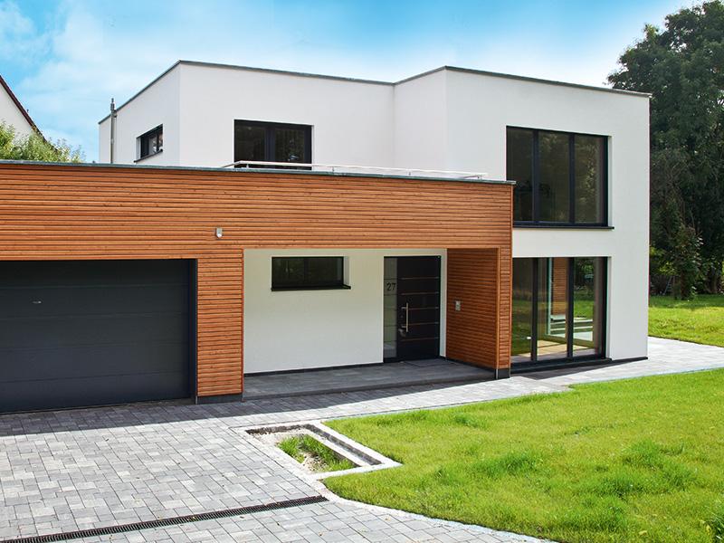 Hausbau activo for Hausbau moderner baustil